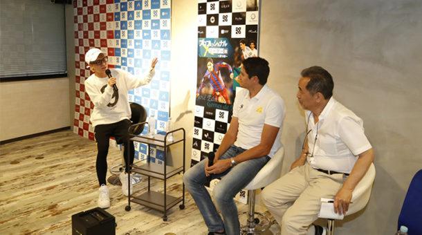「サッカー元ブラジル代表・エジミウソン 」さんのセミナーにKG総勢20名のキャストが参加しました。