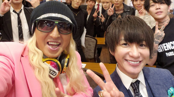 KG講習会に「DJ KOO」さんがゲスト出演しました。
