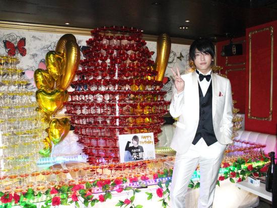朱野 翔 代表代理  バースデーイベント